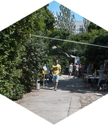 Palo Alto: Barcelona new street market