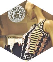 Versace torna a Barcelona a lo gran