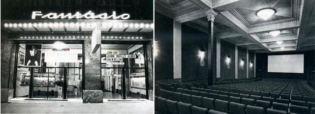 cine fantasio paseo de gracia 1 Los cines de los años treinta en Paseo de Gracia