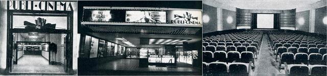 cine publi paseo de gracia 2 Los cines de los años treinta en Paseo de Gracia
