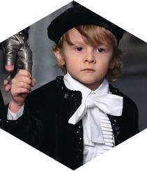 Hudson Kroenig, el nen que va inspirar a Karl Lagerfeld