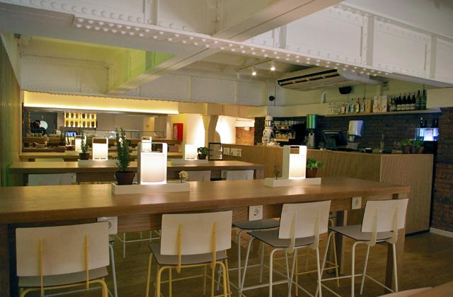 feeld organic barcelona paseodegracia restaurante 4 Somos productores de comida orgánica, no consumidores