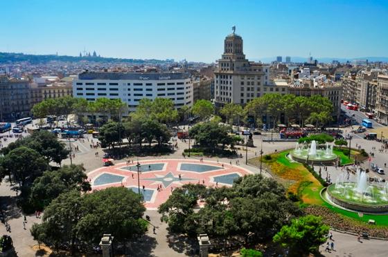google-pac-man-barcelona-plaza-catalunya2