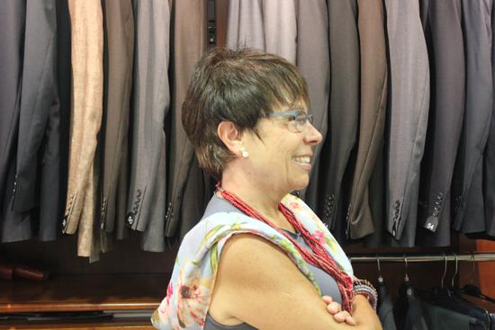 IMG 3365 Joana Candell: Des de la botiga va veure un milicià sortir de la placa de terra, començava la guerra.