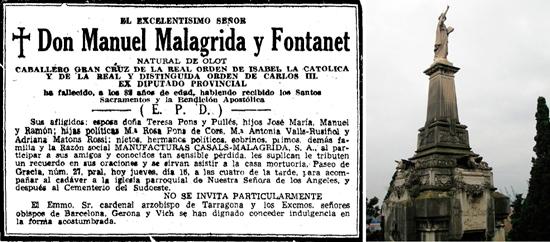 10 MANUEL MALAGRIDA EMBELLECIÓ PASSEIG DE GRÀCIA