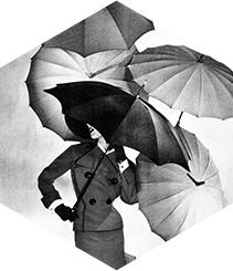 Botas y paraguas para días de lluvia