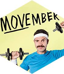 Movember, no te afeites por una buena causa