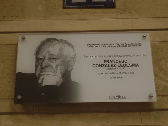 1 LAS CALLES DE FRANCISCO GONZÁLEZ LEDESMA