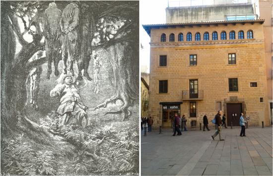 3CV Cervantes i el Quixot a Barcelona