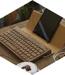 La tecnología se hace con madera