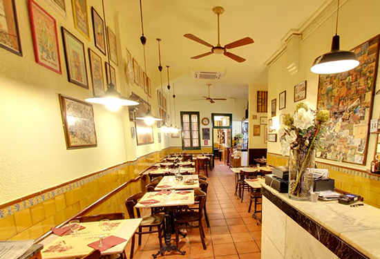 calboter Gaudeix del millor menjar tradicional català