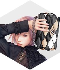 """La nueva musa de Louis Vuitton es un personaje del videojuego """"Final Fantasy"""""""