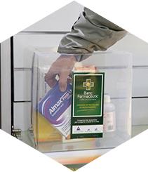 Recogida de medicamentos para las personas sin recursos