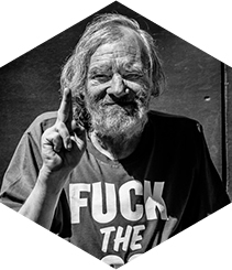 HANS & FRITZ CONTEMPORARY PRESENTS 'FUCK THE POOR'