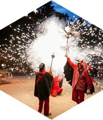 La flama del Canigó llega con la verbena de San Juan