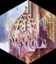 El centro de Barcelona, historia de un secuestro