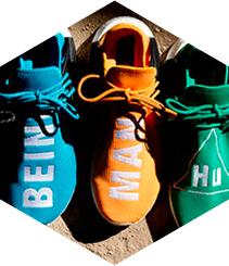Adidas y Pharrell Williams juntos en una colección por la diversidad