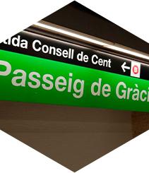 La estación de metro de Paseo de Gracia se rehabilitará