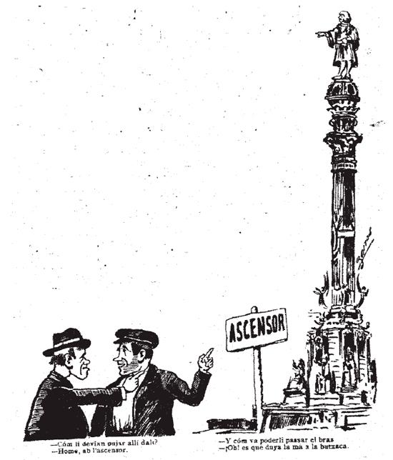 25 Colón, monumento y enigma