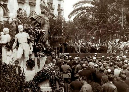 9 Arte público en la Barcelona Franquista