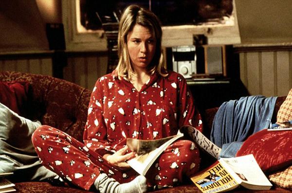 Schokolade Zum Fruehstueck  Bridget Jones's Diary  Renee Zellweger Bridget Jones (Renee Zellweger) wacht am Neujahrs Morgen auf