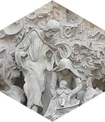 Rincones artísticos navideños en Barcelona