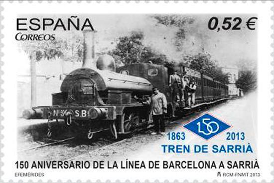 72 El ferrocarril de Sarrià, lentamente queriendo ir más rápido