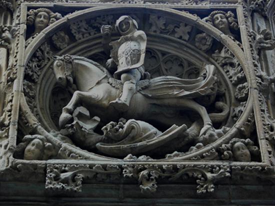 1 ¿Quién fue Sant Jordi? Los monumentos de Barcelona te lo recuerdan