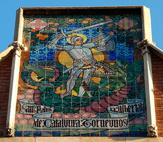 6 ¿Quién fue Sant Jordi? Los monumentos de Barcelona te lo recuerdan