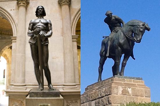 9 ¿Quién fue Sant Jordi? Los monumentos de Barcelona te lo recuerdan