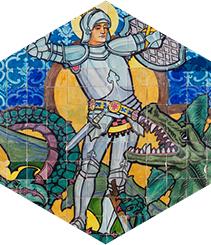 ¿Quién fue Sant Jordi? Los monumentos de Barcelona te lo recuerdan