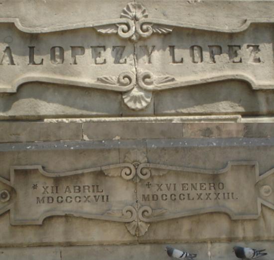 1 A López y López, el monumento y el libro de su cuñado