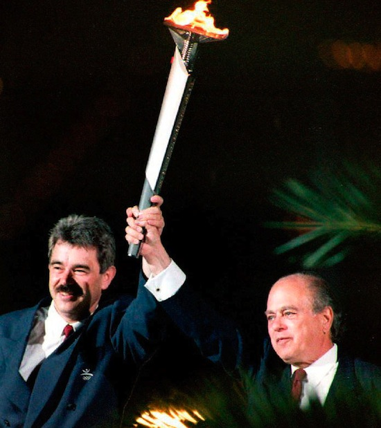 SPAIN-OLYMPIC TORCH