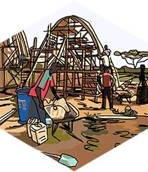 Foundwation muestra los dibujos benéficos de Javier Mariscal