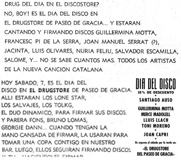 6 600x537 Recordando el Drugstore de Paseo de Gracia, 24 horas al servicio de Barcelona