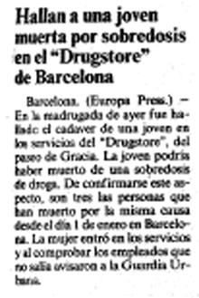 8 Recordando el Drugstore de Paseo de Gracia, 24 horas al servicio de Barcelona