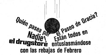 9 Recordando el Drugstore de Paseo de Gracia, 24 horas al servicio de Barcelona