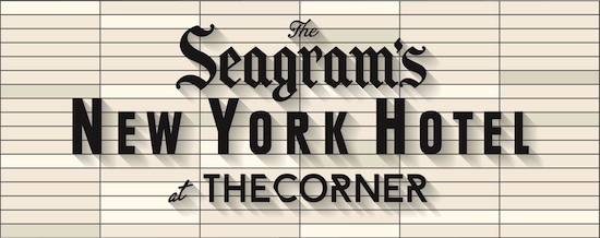 Logo Seagrams NY Hotel at The Corner