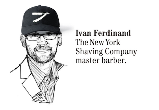 Ivan Ferdinand barber shop anna solsona Cada oveja con su pareja en The New York Shaving company