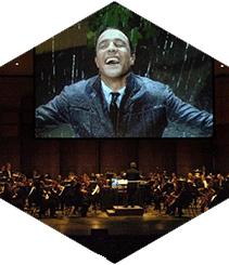 """El Tívoli proyecta """"Cantando bajo la lluvia"""" con orquesta sinfónica de 60 músicos"""