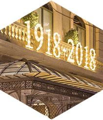 Hotel Majestic celebra su centenario a lo grande