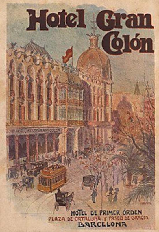 11 Indagando en la historia del Hotel Gran Colón de Plaça Catalunya