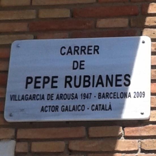 21 Pepe Rubianes ya tiene calle en la Barceloneta