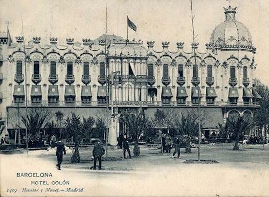 31 Indagando en la historia del Hotel Gran Colón de Plaça Catalunya