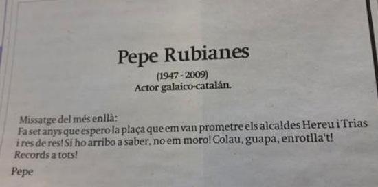 3b Pepe Rubianes ya tiene calle en la Barceloneta