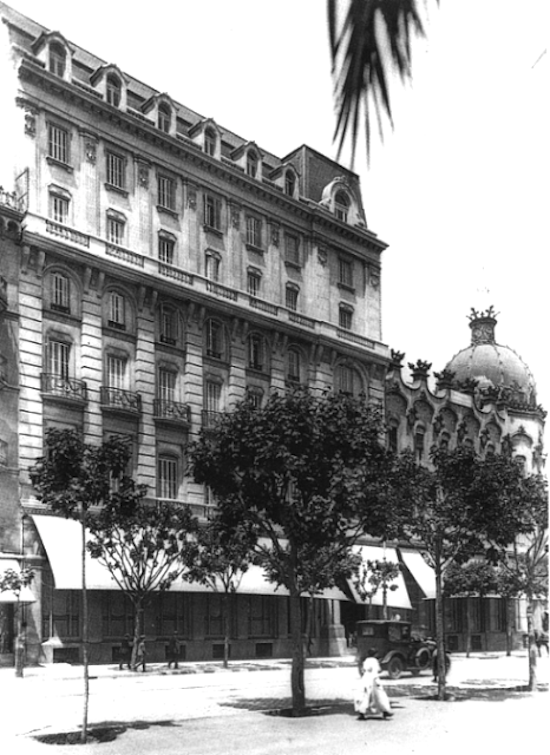41 Indagando en la historia del Hotel Gran Colón de Plaça Catalunya
