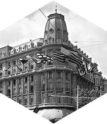 Indagando en la historia del Hotel Gran Colón de Plaça Catalunya