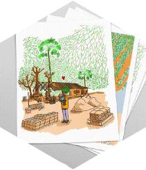 Javi Royo presenta su libro de ilustraciones hechas en Senegal