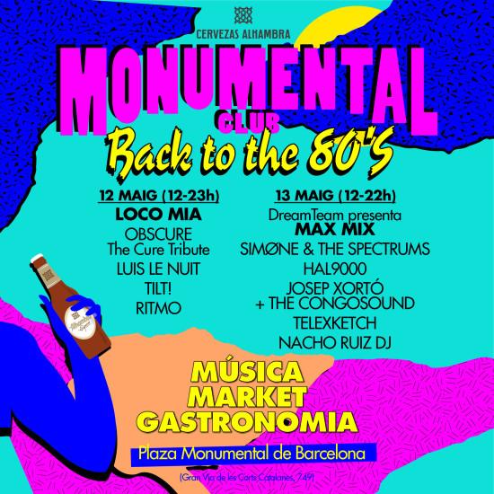 unnamed 1 e1524563529422 Loco Mía y Max Mix traerán el sonido de los 80 a Monumental Club