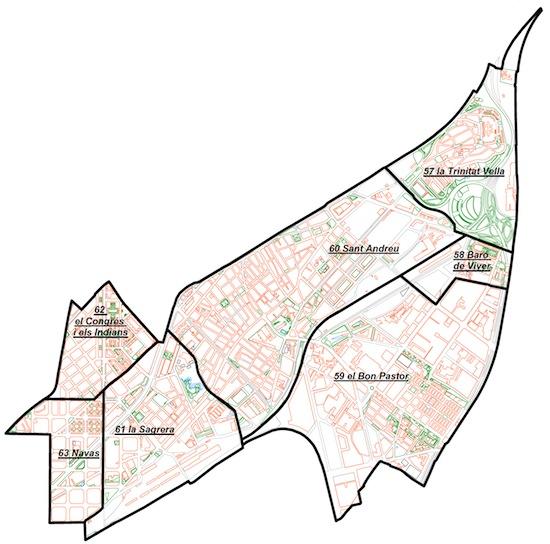 1 Sant Andreu, el distrito y los barrios